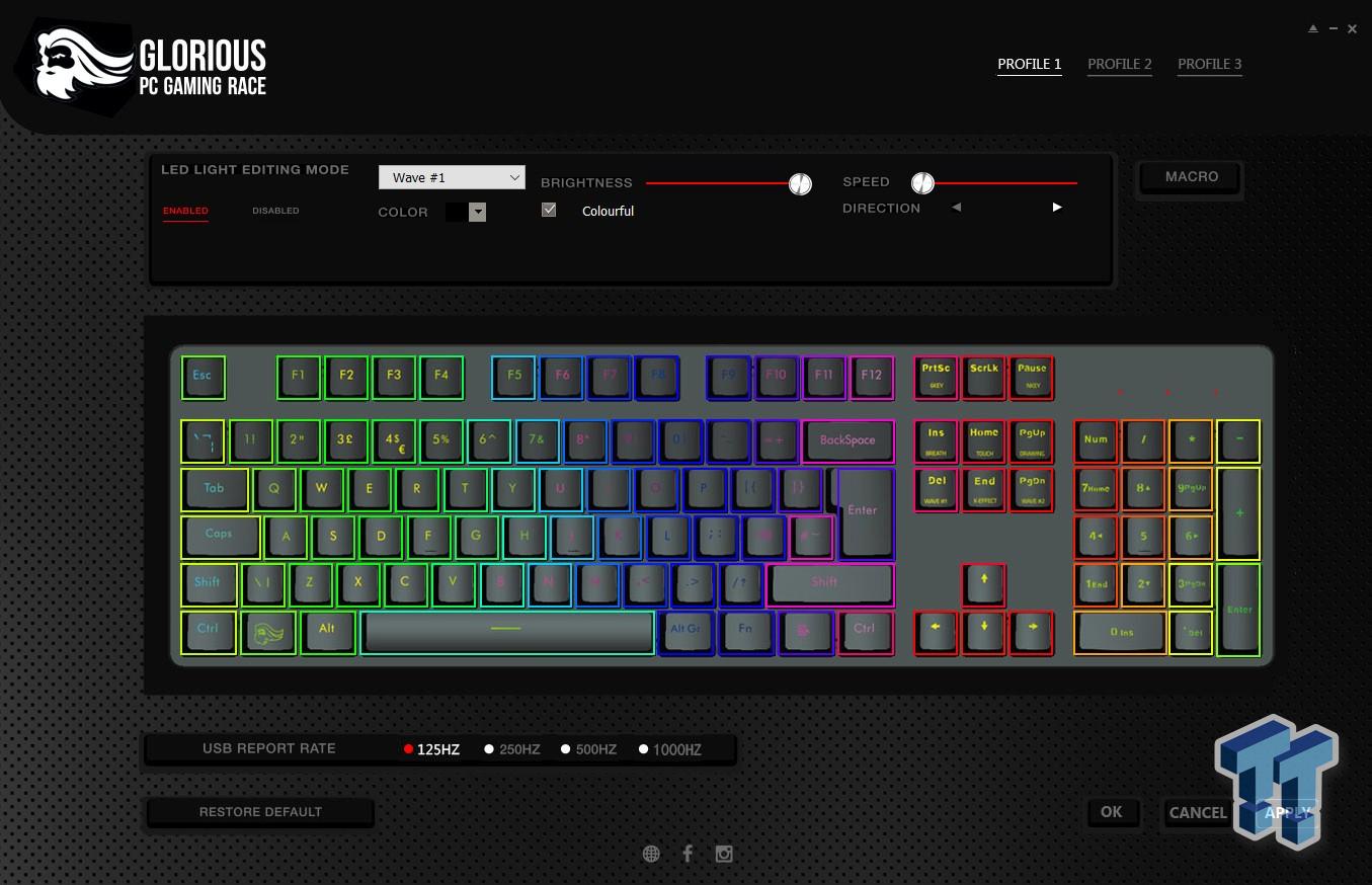 Glorious Modular Mechanical Gaming Keyboard - GMMK Review 30 | TweakTown.com