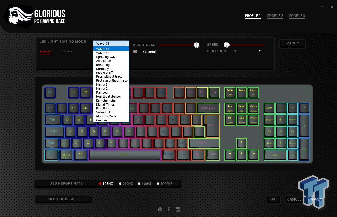Glorious Modular Mechanical Gaming Keyboard - GMMK Review 31 | TweakTown.com