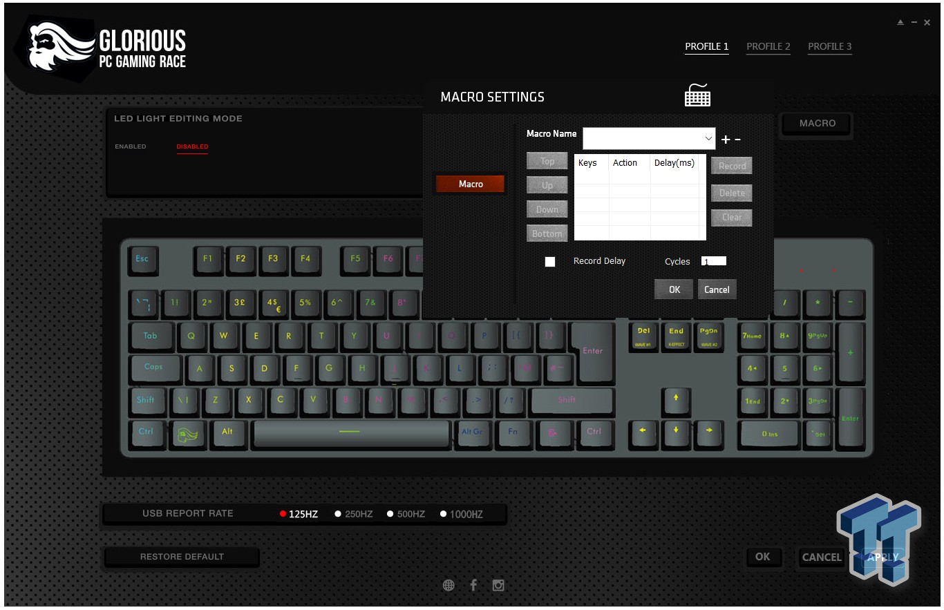 Glorious Modular Mechanical Gaming Keyboard - GMMK Review 33 | TweakTown.com