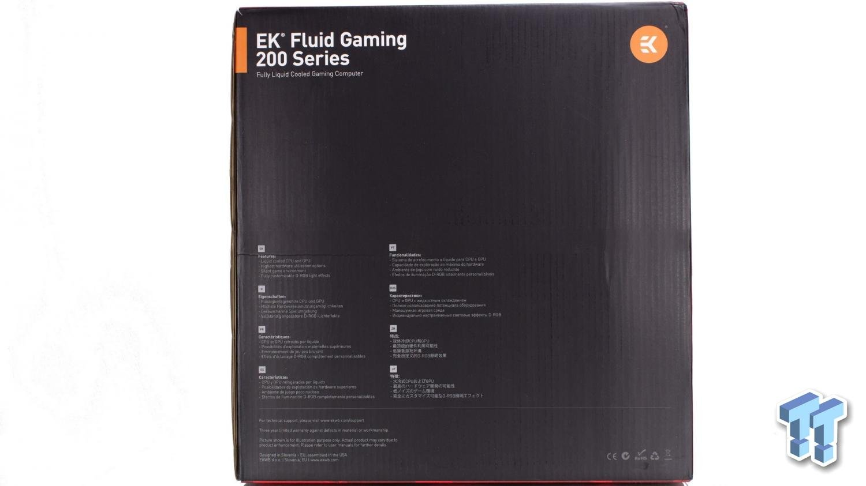 EK Fluid Gaming Vanquish 275-AG Liquid-Cooled Gaming PC Review 12 | TweakTown.com