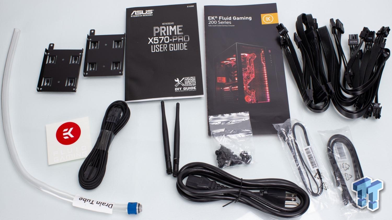 EK Fluid Gaming Vanquish 275-AG Liquid-Cooled Gaming PC Review 13 | TweakTown.com