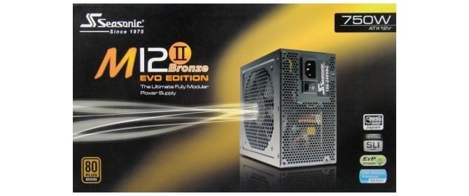 Seasonic M12II 750W EVO Edition 750-Watt 80 PLUS Bronze PSU Review