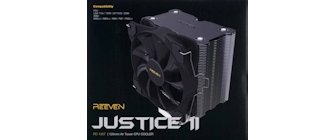 Reeven Justice II CPU Cooler Review