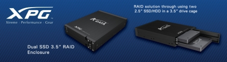 A-DATA Launches XPG Dual SSD 3.5
