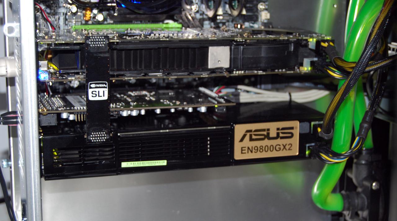 GeForce 9800 GX2 In Quad SLI Tested