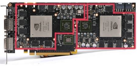 Second GTX 295 Single PCB pictured