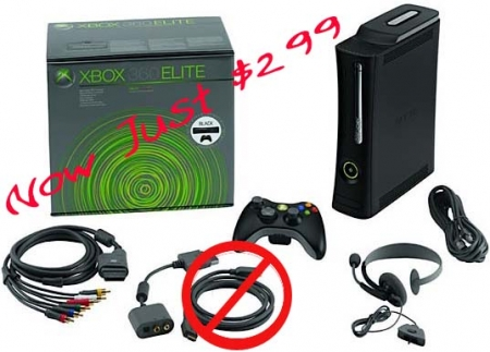 Microsoft Officially Drops Price on Xbox 360 Elite