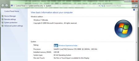 Windows 7 XP mode needs CPU Virtual Support