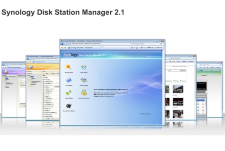 Synology intros Disk Station Manager 2.1