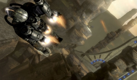 NVIDIA PhysX Makes Dark Void Come Alive