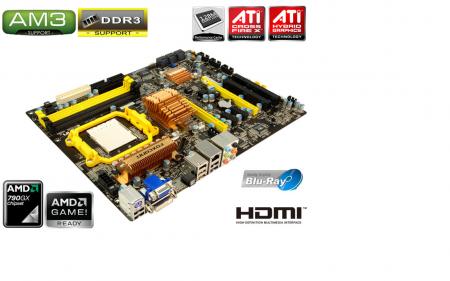 Foxconn Launches the A7DA AM3 DDR3 790GX boards