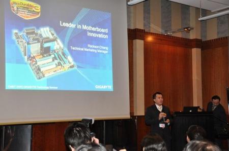 CeBIT '09 GIGABYTE - Intel Joint Press Conference