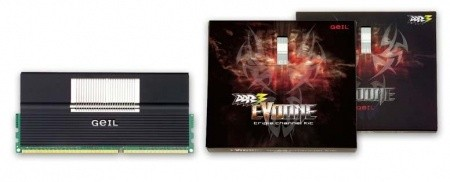 GeIL Launches EVO ONE Gaming DDR3 RAM