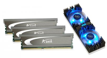 A-DATA Demos Low voltage DDR3-2133 TriChanel Kit