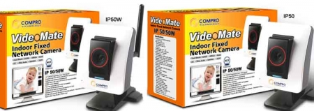 Compro Technology Debuts VideoMate IP50 Cameras