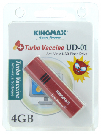 Kingmax intros Turbo Vaccine USB Key