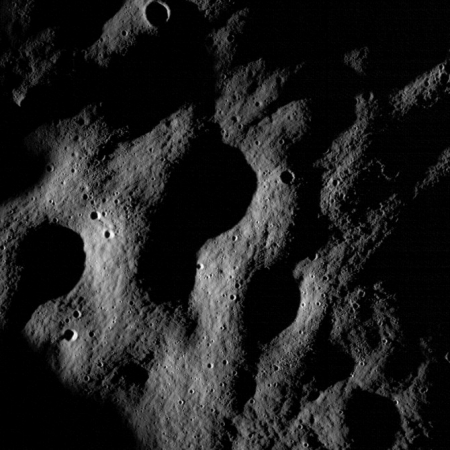 NASA's LRO sends back first pictures from the Moon