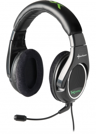 Sharkoon Launches Third Headset in X-Tatic line