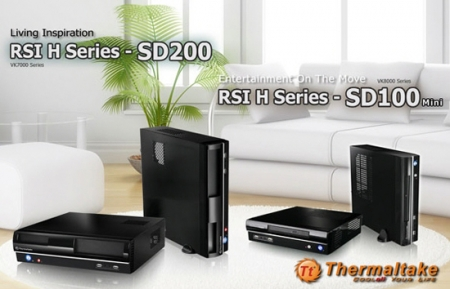Thermaltake launches two new HTPC cases