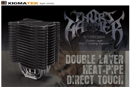 XIGMATEK launches Thor's Hammer CPU Cooler