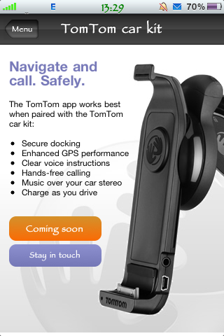 TomTom Car Kit Dock Hits the FCC