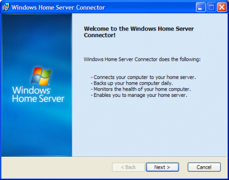 Windows Home Server won't work with Mac and Linux
