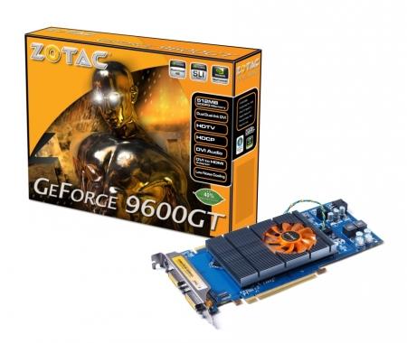 ZOTAC Announces Power Efficient GeForce® 9600GT Eco