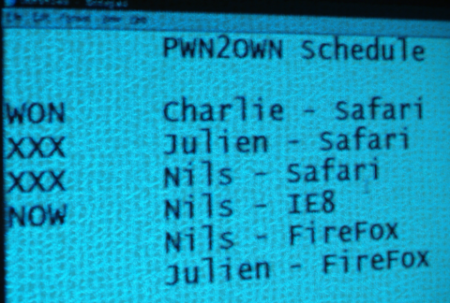 Safari hacked in seconds at Pwn2Own 2009