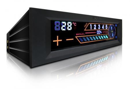 NZXT Debuts Sentry 2 Touch Screen Fan Ctonroller