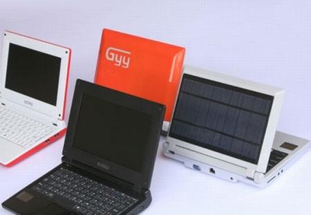 Solar powered Netbooks emerge