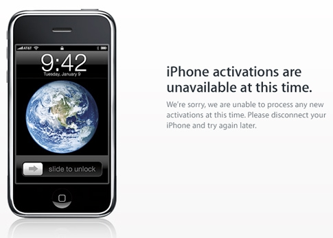 Apple Gives iTunes Credit For 3GS Activation Issue