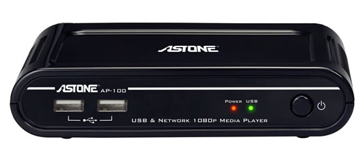 Astone Media Gear AP-100 1080p Media Player Video Review