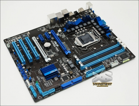 ASUS P7P55 Pro Core i5 Motherboard Pictured