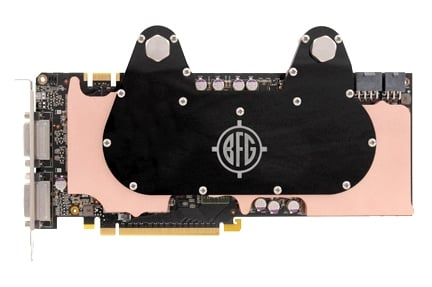 BFG Readies H2O Cooled Single PCB GTX 295