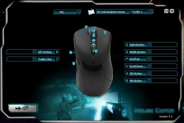 Sharkoon Rush FireGlider Laser Gaming Mouse