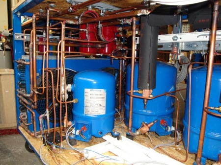 Five Stage Cascading Phase Change Cooler
