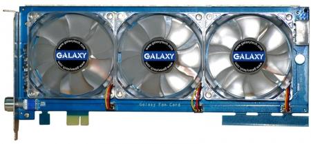 Galaxy Unveils Fan-Card GPU Cooler