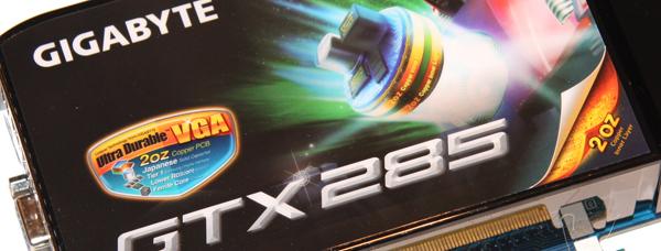 GIGABYTE GTX 285 2GB OC Graphics Card