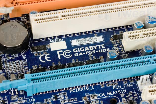 GIGABYTE GA-P55-UD6 Motherboard Preview