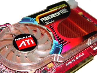 ATI X800XL 256mb καινούρια, άριστη!