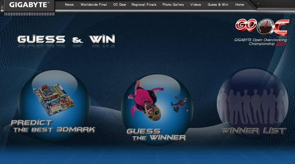 GIGABYTE GO OC Contest Offering Five Motherboards