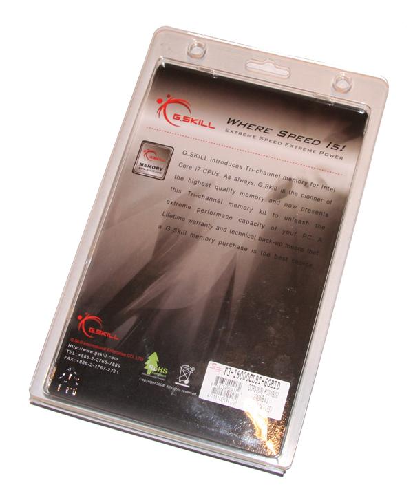 G.Skill Trident PC3-16000 6GB Kit