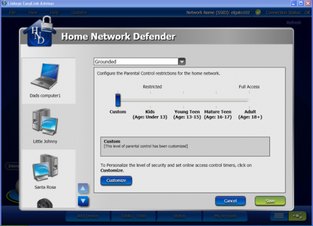 Home Network Defender