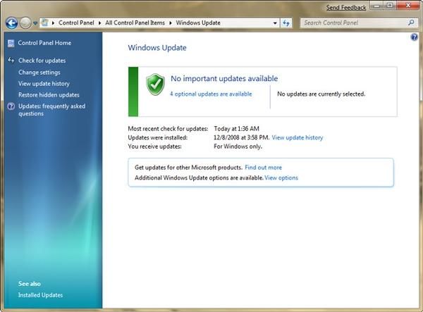 Microsoft To Test Windows 7 Updates