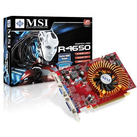 MSI R4650-MD512 Video Card