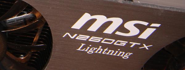 MSI GTX 260 Lightning Graphics Card