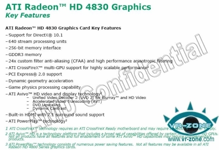 AMD's HD 4830 to have October 21st launch party?
