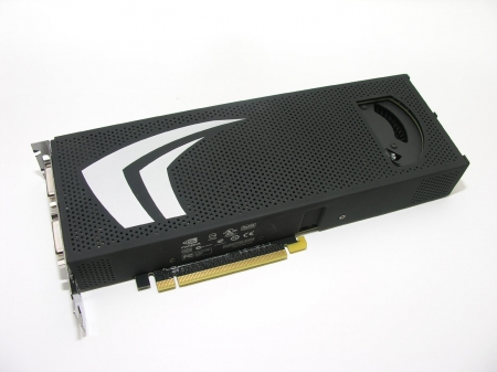 Upcoming GeForce GTX 295 gets previewed