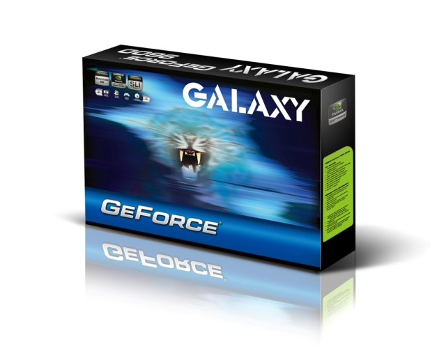 Galaxy Microsystems releases the new GALAXY 9600GT Low Power graphics card