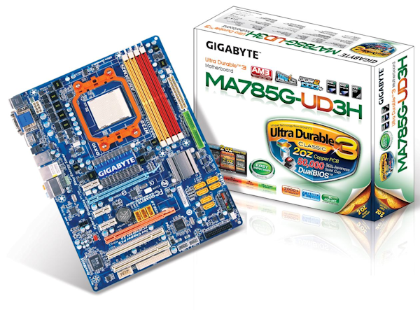 Weekly Giveaway - GIGABYTE GA-MA785G-UD3H mobo (AMD 785G chipset)